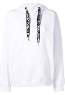 Proenza Schouler Blusa De Moletom Com Logo - Branco