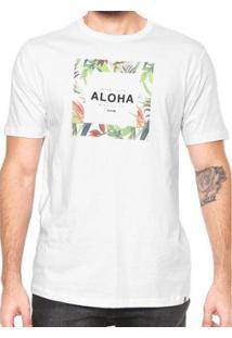 Camiseta Hurley Silk Hawaii Hunt - Masculino