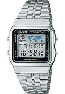 8896bd70b15 Relógio Digital Casio Inox feminino