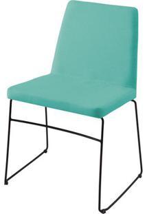 Cadeira Avec Verde Base Preta - 55908 - Sun House