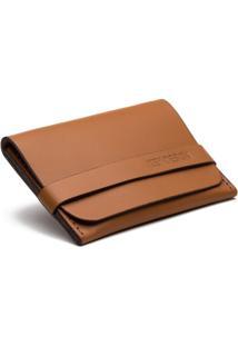 Carteira Porta Cartão Key Design - Wallet Prouve Caramel - Masculino-Caramelo