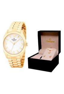 Relógio Feminino Champion Analógico Elegance - Cn25841W
