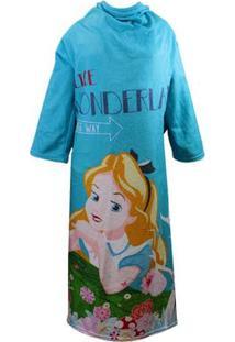 Cobertor Com Mangas Disney Alice