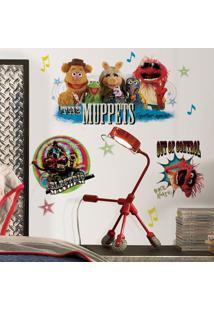 Adesivo De Parede - Os Muppets - Roommates - Disney