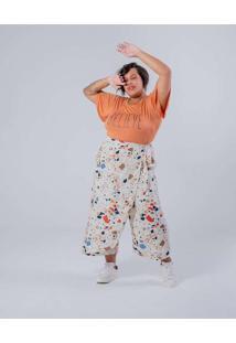 Camiseta Almaria Plus Size Miss Taylor Estampa Loc