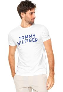 Camiseta Tommy Hilfiger Grap Branca