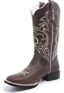 Bota Fidalgo Boots Texana Country Fossil Café