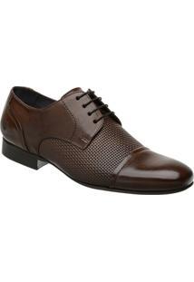 Sapato Social Malbork Em Couro Com Cadarço 60435 - Masculino