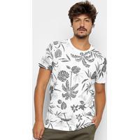 14aa11464 Camiseta Colcci Estampa Folhagem Masculina - Masculino