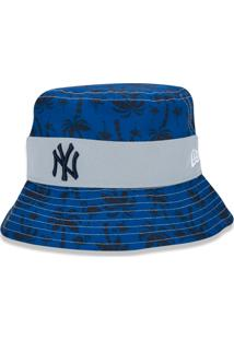 Headwear New Era Chapeu Bucket New York Yankees Azul