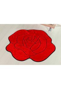 Tapete Guga Tapetes De Pelúcia Rosa Vermelho