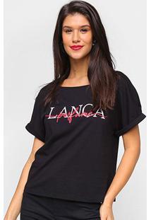 Camiseta Lança Perfume Básica Logo Feminina - Feminino
