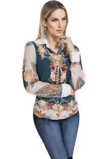 Camisa Energia Fashion Versales Marinho