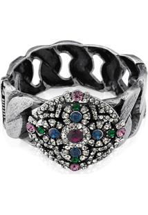 Bracelete Le Diamond Pedras Multicolorido
