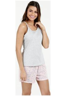 Pijama Feminino Estampado Marisa