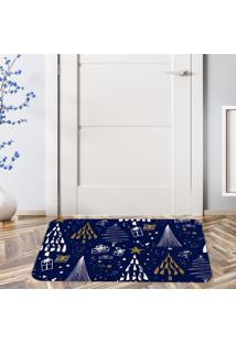 Tapete De Natal Para Porta Elementos Natalinos ÚNico - Multicolorido - Dafiti