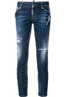 7b7f8bb72 R$ 3147,00. Farfetch Dsquared2 Calça Jeans Skinny - Azul