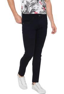 Calça Jeans Zune Skinny Amassados Azul