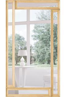 Espelho Decorativo Vernazza 67X117 Cm Dourado