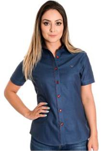 ... Camisa Pimenta Rosada Chelsea - Feminino-Azul 956bd793f94ac