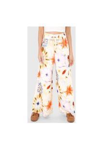 Calça De Moletom Dress To Pantalona Outono Off-White/Laranja