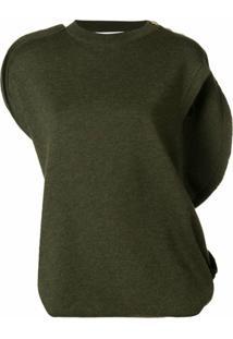 Jw Anderson Blusa Assimétrica - Verde
