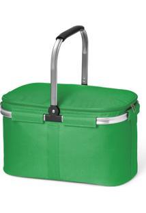 Bolsa Térmica Flexível Lux Topget Verde