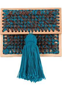 0711 Clutch 'Antoine Copacabana' - Azul