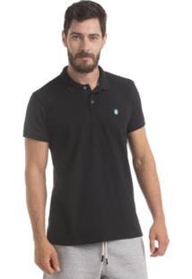 Camisa Polo Piquet Zaiden Style S1 Masculina - Masculino-Preto