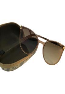 Óculos De Sol Jf Sun Donna-Champagne-Marrom-Degradê