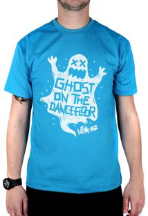 Camiseta 182Life Ghost On The Dancefloor Turquesa