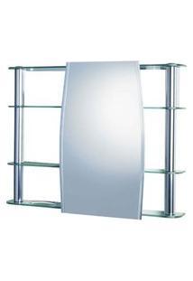 Espelheira Cristal Slip 1300 80X64Cm Sem Luminária Cris-Metal