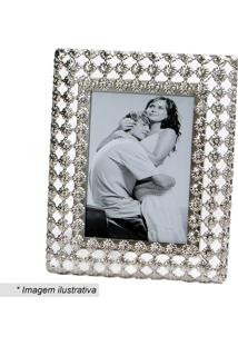 Porta Retrato Com Recortes- Prateado- 21X10,5X4Cmdecor Glass