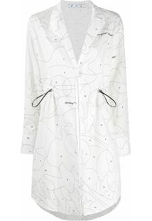 Off-White Chemise Puzzle Coulisse - Branco