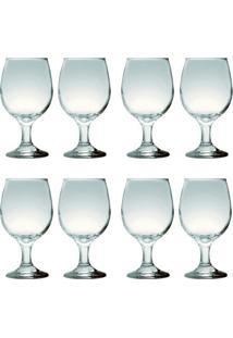 Kit Com 8 Taças Para Vinho Tinto 245 Ml Sture Móveis - Kanui