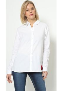 Camisa Com Tag - Brancacalvin Klein