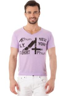 Camiseta 4Phun New York Roxo