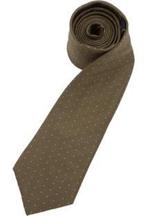 Gravata Verde Estampada - Uni