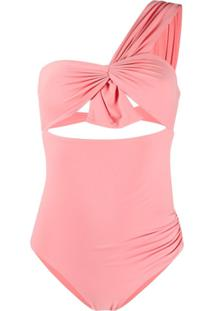 Marysia Ruched One-Piece Swimsuit - Rosa