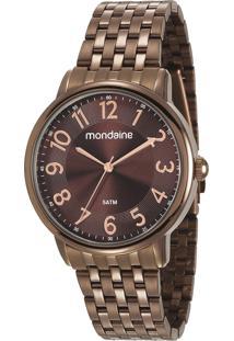 Relógio Analógico Mondaine Feminino - 53673Lpmvme2 Marrom