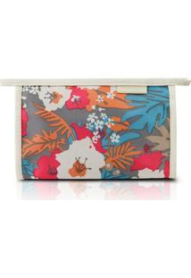 Necessaire Envelope Estampada Jacki Design Miss Douce Bege - Kanui