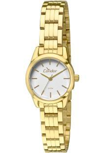b1fe1454fe8 Relógio Digital Dourado Pelo feminino