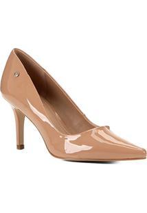 Scarpin Shoestock Salto Médio Naked - Feminino-Noz