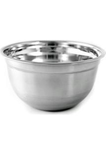 Tigela 22 Cm Mixing Bowl Inox Gourmet Mix