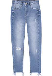 2ebf8f03c ... Calça Jeans Skinny Com Cintura Média Alta