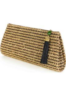 Clutch Palha Lurex