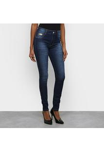 Calça Jeans Skinny Biotipo Melissa Estonada Feminina - Feminino