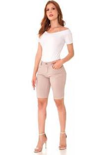 Bermuda Jeans Express Pedal Lorenza Feminina - Feminino