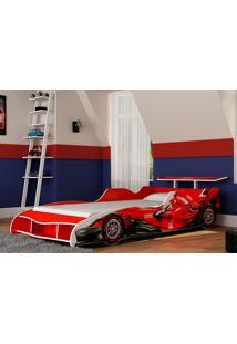 Cama Gélius F1 - Vermelha