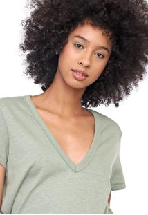Camiseta Colcci Eco Verde
